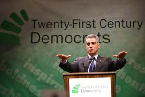 Democratic Caucus Chair Rahm Emanuel