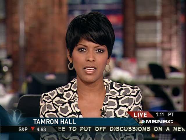 Tamron Hall's Sister