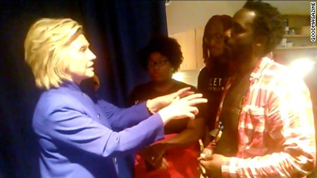 Hillary Clinton Judge Willie Lockette And Black Lives